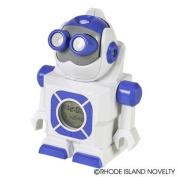 18cm Robot Led Projection Clock