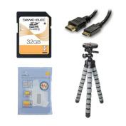 Panasonic HC-V270 Camcorder Accessory Kit includes