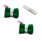 Clarinet Cleaning Swab Pack, 2 Green Felt Clarinet Cleaning Cloths + BONUS Cork Grease