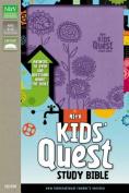 NIrV, Kids' Quest Study Bible, Imitation Leather, Purple