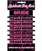 Kalan Bachelorette Party Bands - 1 Bride And 6 Team Bride Bands by Kalan