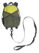 BRICA By-My-Side Safety Harness Backpack, Green/Blue Gift, Baby, NewBorn, Child