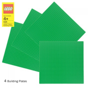 LEGO Green Baseplate 626 (25cm x 25cm ) Set of 4