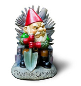 "Big Mouth Toys ""Game of Gnomes"" Garden Gnome Statues"