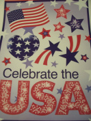 Patriotic Window Clings ~ Celebrate the USA