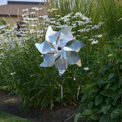 In the Breeze Silver Sparkle Pinwheel Spinner, 46cm
