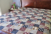 Ashley Cooper Patriotic Quilt in Twin Size