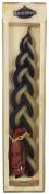Majestic Giftware SC-HBW6SET Safed Havdalah Candle with Spice Bag, 24cm , Blue-White