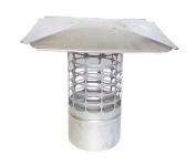 20cm Slip-In Round Stainless Steel 3/4 Mesh Cap