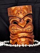 CARVED TIKI MASK 20cm - LOVE TIKI - HAWAIIAN GIFTS