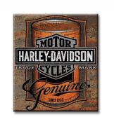Harley-Davidson® Oil Can Label Tin Sign 2010931