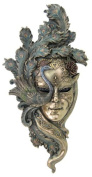 Large - Lady Peacock Venetian Style Carnival Mask Wall Decor