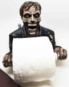 ZOMBIE WALKING DEAD CLEANUP MESS TOILET PAPER HOLDER AWESOME HOME DECOR