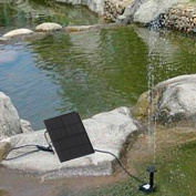 Kingzer Solar Energy Brushless Pump For Water Cycle/Pond Fountain/Rockery Fountain
