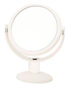 Danielle Enterprises Soft Touch 10X Magnification Vanity Mirror, White