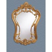 Bassett Mirror Hermosa Wall Mirror, Gold Leaf