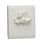 Ivy Lane Design Wedding Accessories Memory Book, Water Lily, White