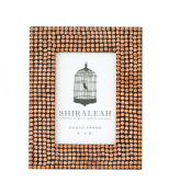 Shiraleah Bazaar All Over Studded Frame, 8.5 by 17cm by 1.3cm , Copper