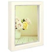 Dennis Daniels Treasure Box Picture Frame, 10cm by 15cm , Bright White