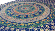 Elephant Mandala Tapestry, Hippie Tapestries, Wall Tapestries, Tapestry Wall Hanging, Indian Tapestry, Bohemian Bedding Psychedelic tapestry Size 150cm x 220cm 's
