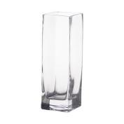 20cm Glass Square Bud Vases