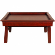 Oriental Furniture Good Best Great Gift Ideas for Her, 60cm Qing Design Breakfast in Bed Tea Tray Lap Table