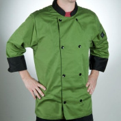 Chef Revival® Crew Fresh Jacket Mint Green M