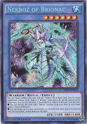 Yu-Gi-Oh! - Nekroz of Brionac (THSF-EN014) - The Secret Forces - 1st Edition - Secret Rare