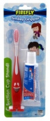 Firefly Toothbrush Smiley Gripper With Toothpaste