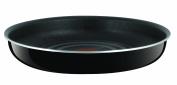 Tefal Ingenio Enamel Frying Pan, 28 cm - Black