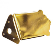 Golden Gate Traditional Mandolin Tailpiece - Gold