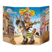 Beistle Fiesta Photo Property, 0.9m by 60cm , Multicolor