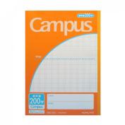 Japanese Kanji Practise Notebook No. 6 200 squares campus