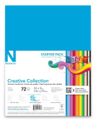 Neenah Creative Collection Classics Specialty Cardstock Starter Kit, 22cm X 28cm , 72 Count