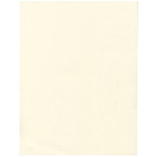 JAM Paper® - (8.5 x 11) Strathmore Natural White Linen 11kg Paper - 30% recycled - 100 sheets per pack