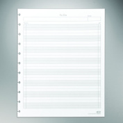 """Staples. Arc """"To-Do"""" Notebook Filler Paper, Letter-sized, White, 50 Sheets"""