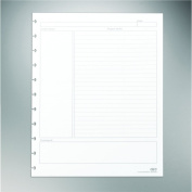 Staples. Arc Notebook Project Planner Filler Paper, Letter-sized, White, 50 Sheets
