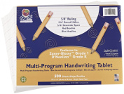 School Specialty Handwriting Paper - 5/8 Rule, 5/16 Dotted, 5/16 skip - 27cm x 20cm - 500 Sheets