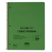 Earthwise By Oxford Wirelock Subject Notebook, College/Med Rule, 8-1/2 X 11, We, 100 Sheets [Set of 2]