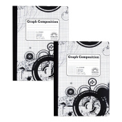 5 x 5 Ruled Graph Composition Book