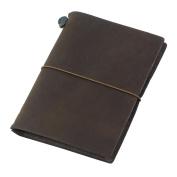 Midori Traveller's Notebook Journal Passport Size - Brown