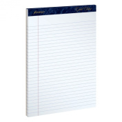 Ampad Gold Fibre Writing Pads, Legal/Wide Rule, Letter Size (22cm x 30cm ), White, Four 50-Sheet Pads per Pack