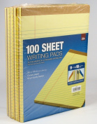Tops 100-Sheet Legal Pads Canary Yellow