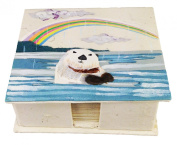 Mr. Ellie Pooh Otter Note Box with Paper