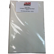 JAM Paper® (6 x 9) Tissue Overlay Paper - Onion Skin Invitation - 50 sheets per pack