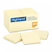Highland Notes, 7.6cm x 7.6cm , Yellow, 24-Pads/Pack