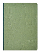 Clairefontaine Basic Large Clothbound Notebook (6 x 8.25) GREEN 192 Pages