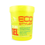 Eco Styler Extra Firm Styling Gel Yellow Jar 907 g