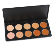 Pure Vie(TM) Professional 6 Colours Cream Concealer Camouflage Makeup Eyeshadow Palette Contouring Kit