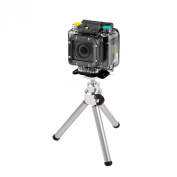 DURAGADGET Ultra-Portable, Lightweight Aluminium Tripod with Sturdy, Collapsible Legs for the NEW EE 4GEE Action Camera